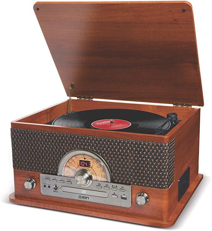ION Audio |レトロ調 ミュージックプレーヤー