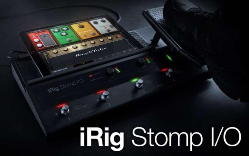 IK Multimedia iRig Stomp I/O ペダルボード・コントローラー