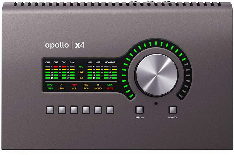 Universal Audio Apollo x4 Thunderbolt3