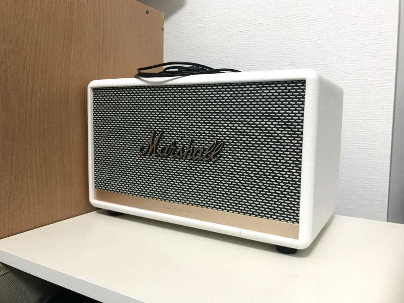 「Marshall ACTONⅡ」ギターアンプの定番メーカーマーシャルのリスニングスピーカー