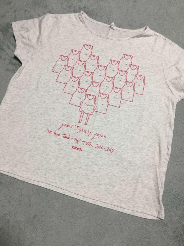 ヤバイTシャツ屋さん|おしゃれツアーTシャツ