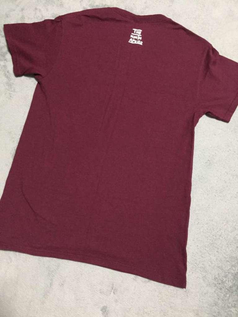 さよならポエジー|スペルロゴTシャツ裏