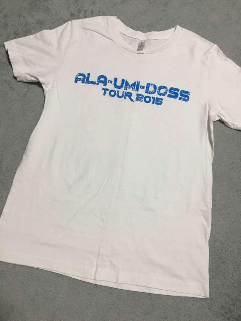 ALA-UMI-DOSS|ALA-UMI-DOSS TOUR 2015 Tシャツ表
