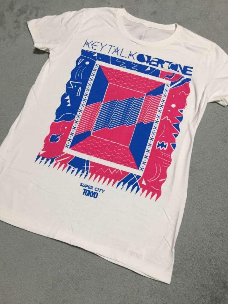 KEYTALK|OVERTONEツアーTシャツ表