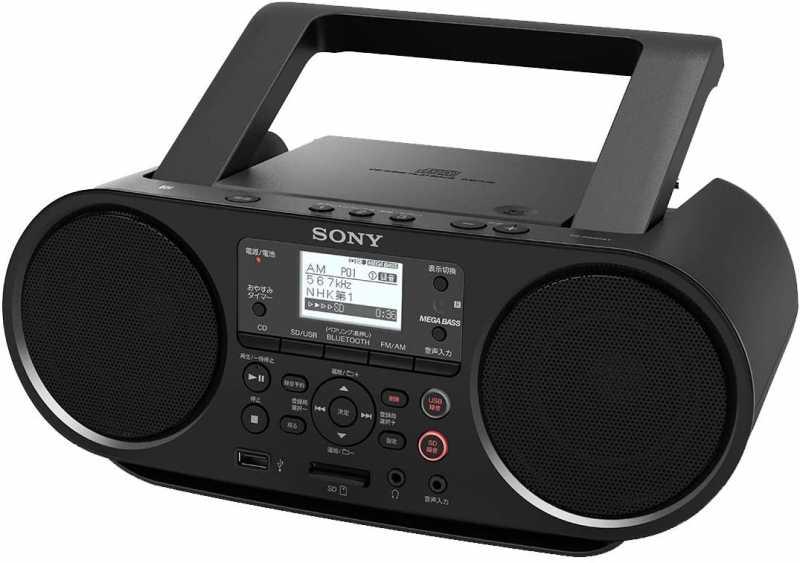 SONY|CDラジオレコーダー ZS-RS81BT